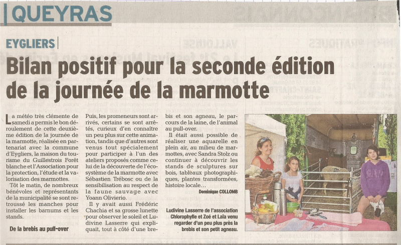 2e edition de la fete de la marmotte 29 juillet 2014 1