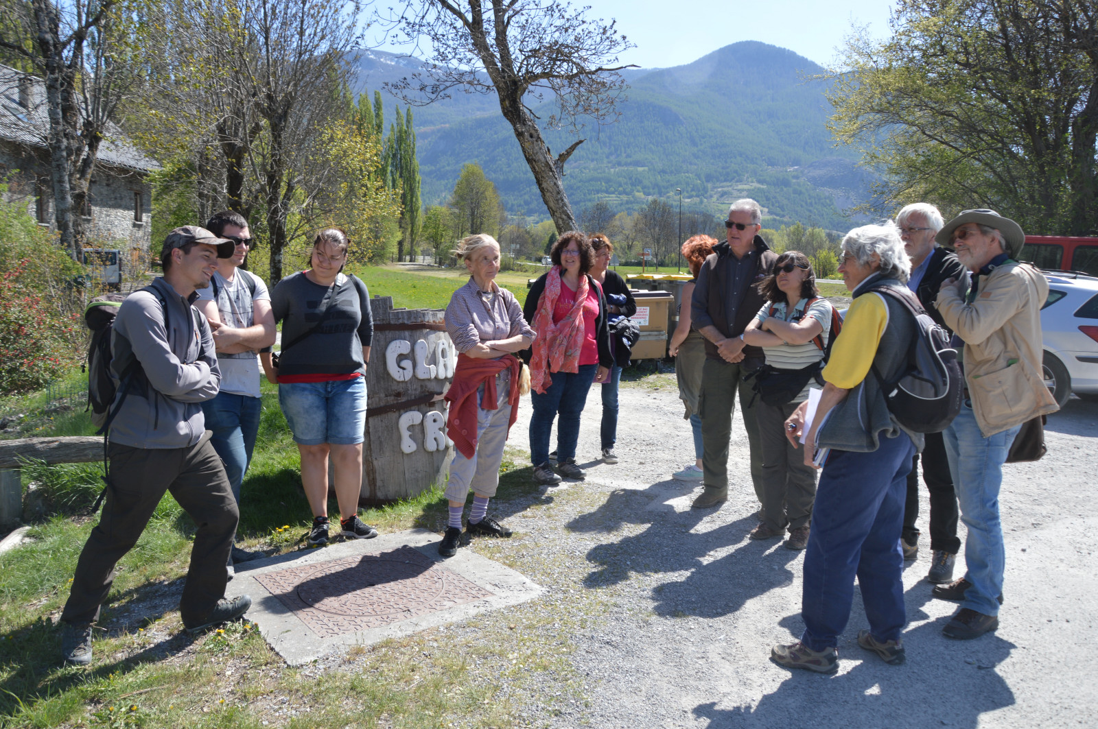 Comptage marmottes d'Eygliers  22 avril 2017