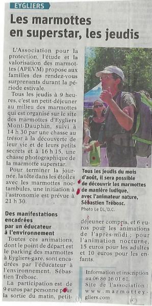 Dauphine libere 30 juillet 2019a
