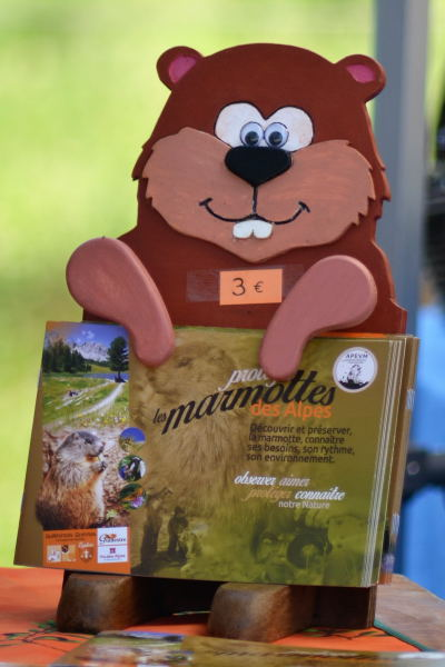 Livret éducatif sur la marmotte